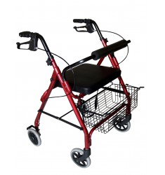 Rollator 4 roues ALUSTYLE