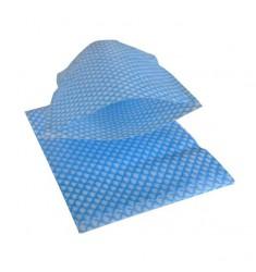 Gant de toilette Care molletonnés bleu