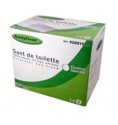 Gant de toilette HandyClean blanc