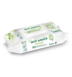 Lingettes imprégnées désinfectante Wip'Anios Excel