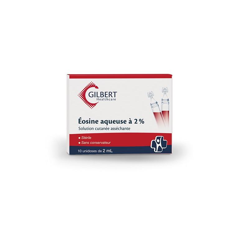 Eosine aqueuse à 2 % unidoses de 2 ml