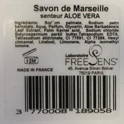 Savon de Marseille ALOE-VERA