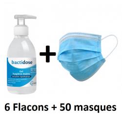 Gel Hydroalcoolique + Masques