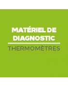 Thermometre médical - prise de température corporelle