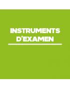Instruments d'examen